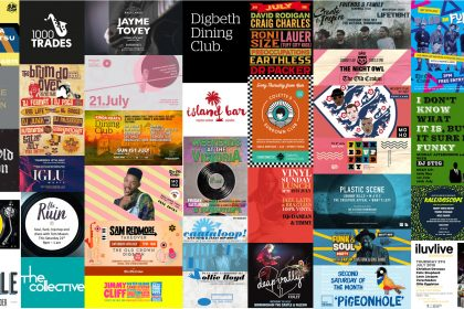 Brum Live Music & DJ Guide July 2018