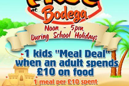 Kids Eat Free returns to Bodega