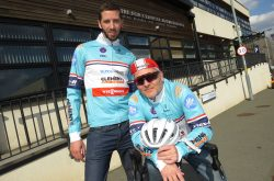 The Edgbaston Team Cycle From London To Paris To Raise Funds For Cure Leukaemia