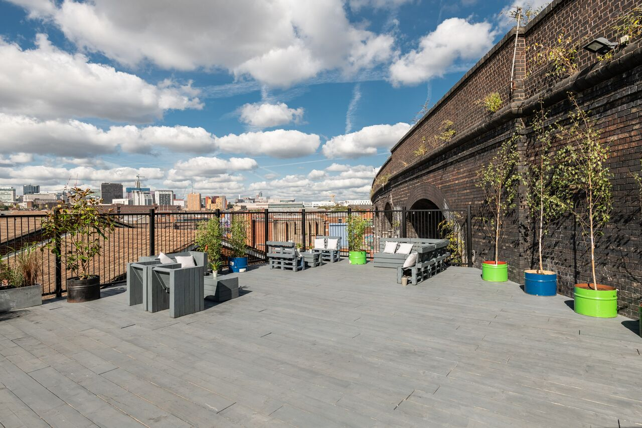 TOM BIRD PHOTOGRAPHY THE MILL DIGBETH ROOF TERRACE
