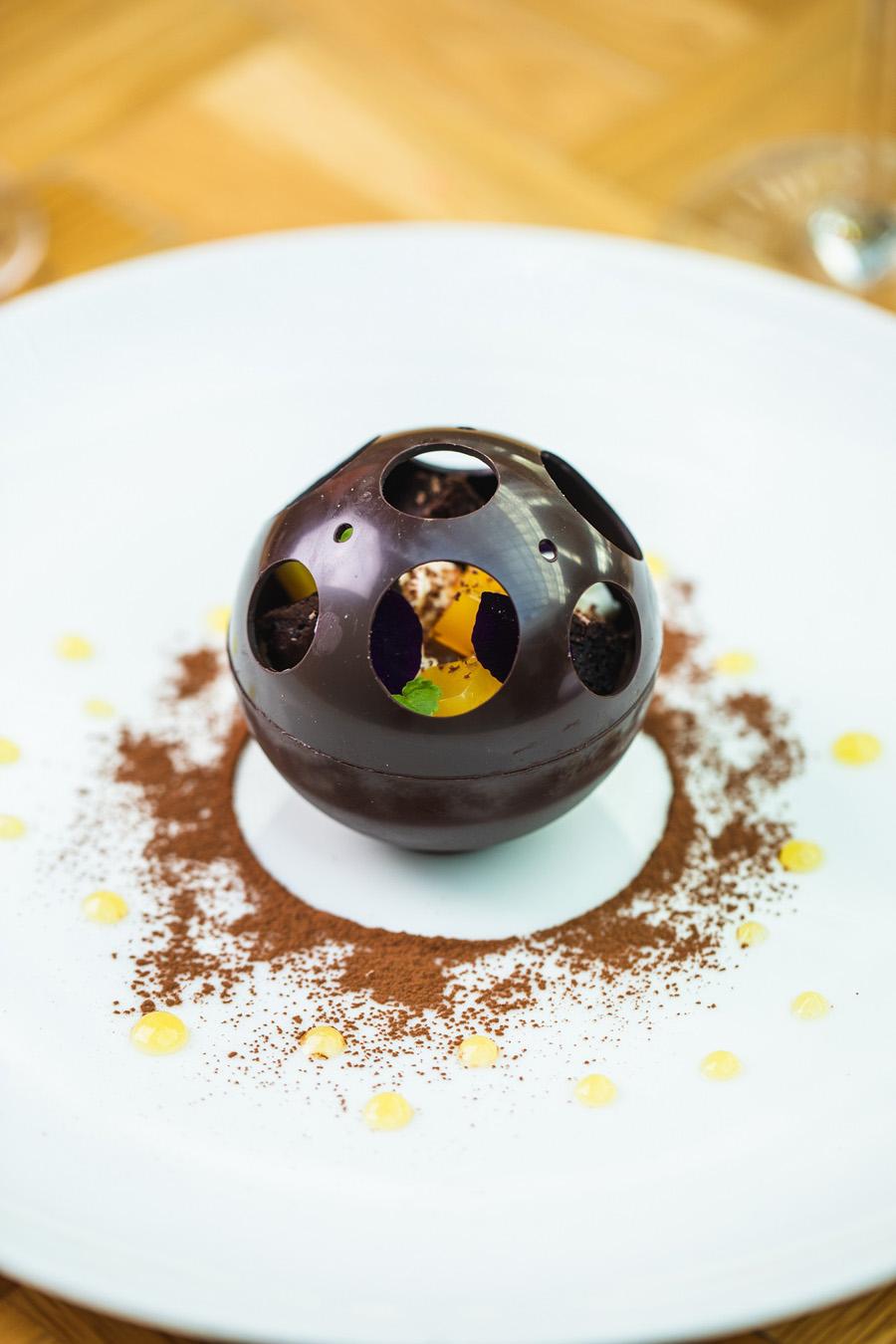 Chocolate Orange Sphere