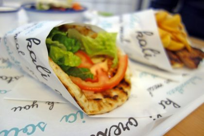 All Greek Street Food review by Ollie Lloyd