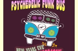 Jump aboard the time traveling funk bus for Major Flaphard's Psychedelic New Years Eve party at The Plough!