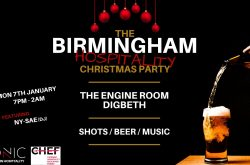 The Birmingham Hospitality Christmas Party