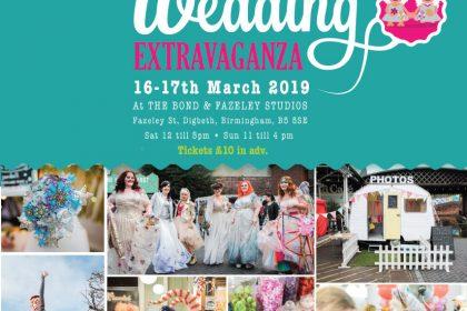 The UK's biggest alternative wedding fair returns to Birmingham this March!