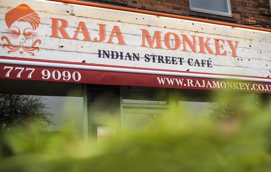 Raja Monkey birmingham front