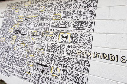 Acclaimed 'doodle artist' creates Digbeth Directory