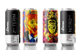 Limited Edition Art Series cans From Dares