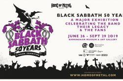 Ticket Release for Black Sabbath 50 Years Exhibition!