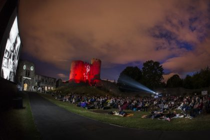 Flatpack Projects present the cinema spectacular BEWARE THE MOON at Dudley Castle!