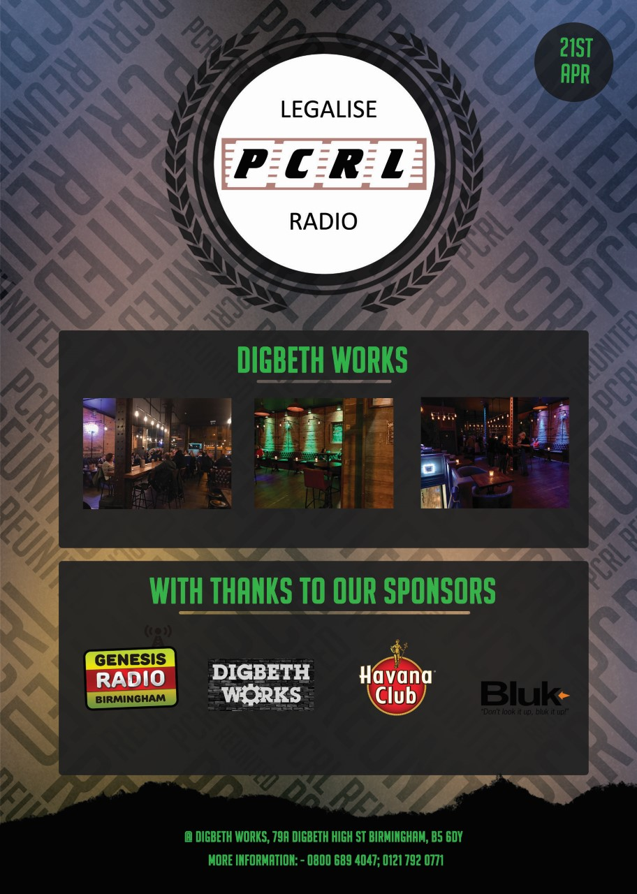 PCRL – The Reunion at Digbeth Works 21st April!
