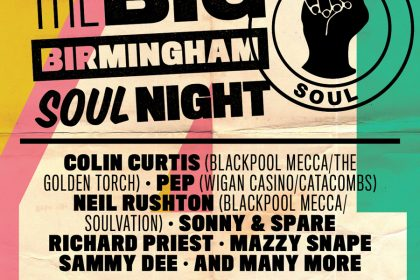 The Big Birmingham Soul night takes over Town Hall