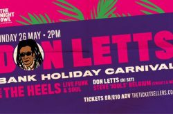 Don Letts returns to Brum for Bank Holiday Carnival