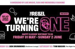 The Rebel Chicken 1st Birthday Weekend