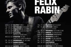 Felix Rabin – French Guitar Wonder returns to the UK this Autumn