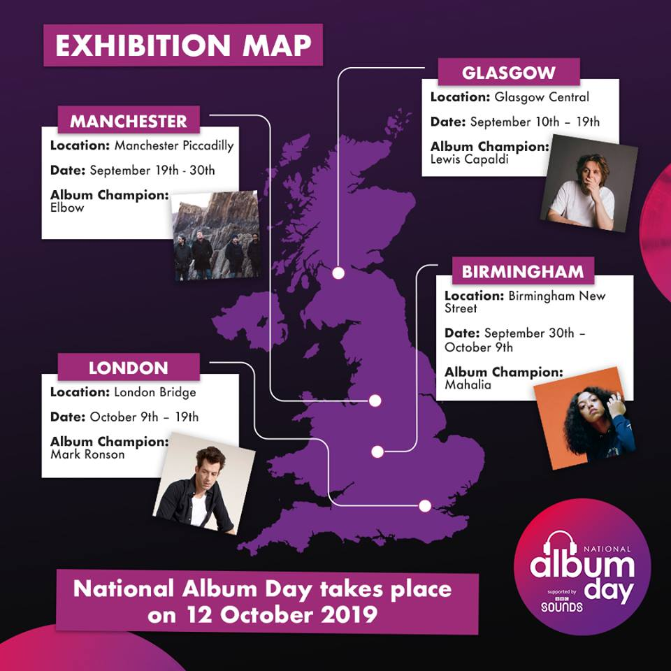 National Album Day partners with Network Rail to launch