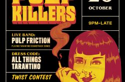 An immersive Quentin Tarantino Halloween party is coming to Brum