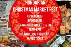 Hungarian Christmas Market Fest at Spotted Dog Sunday 1st Dec