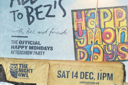 Digbeth club to host official Happy Mondays after party