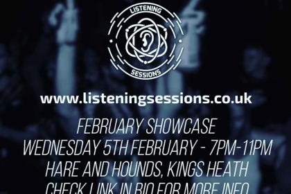 Listening Sessions February Showcase 2020