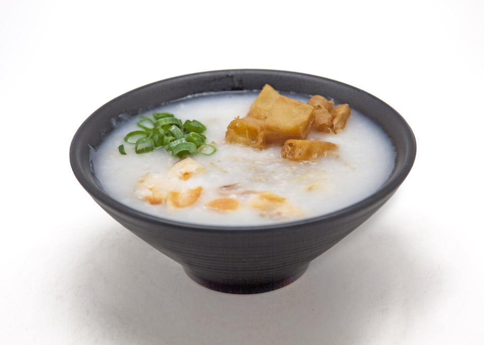 dim sum congee dish