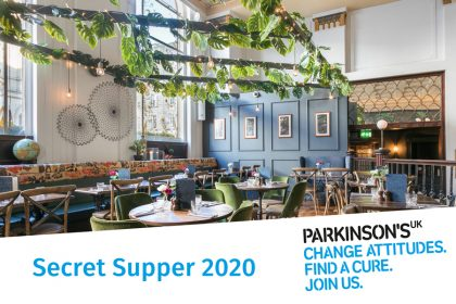 Birmingham's second Secret Supper to support people with Parkinson's