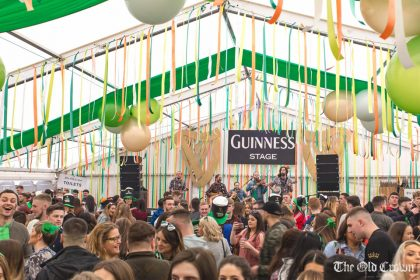 The Old Crown celebrates St. Patrick's Day with a week of festivities in it's Guinness Village