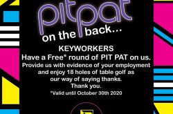 The Floodgate Re-Opens + Free Game of Pit Pat for NHS Staff