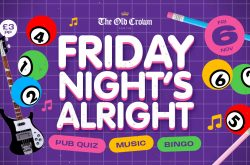 Friday Night's Alright this November at The Old Crown Birmingham