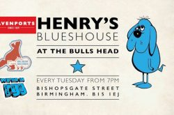 Henry's Blueshouse returns to the Bulls Head every Tuesday this Winter