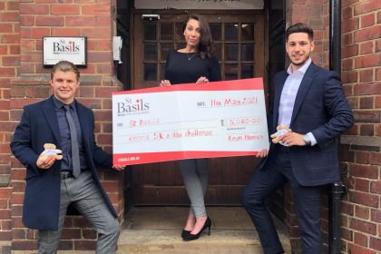 Midlands lads smash 5K a day to fight homelessness