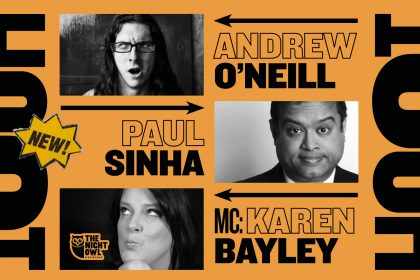 Brand new comedy night launches at The Night Owl this month