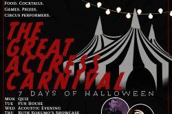 7 days of Halloween at Actress and Bishop